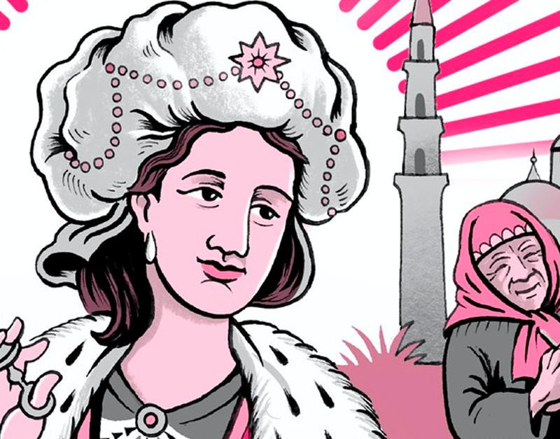 Lady Mary Wasn't a Scientist But Was a Breakthrough Force in History   by Claudia Feitosa-Santana